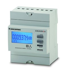 COUNTIS E40 KWH METER, 3P, CT CONNECT PULSE OUTPUT 4 MODULES