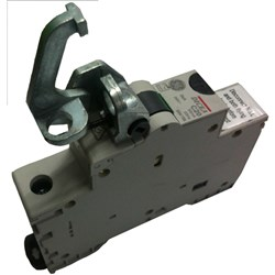 MCB FIXED PADLOCKING DEVICE GE MCB & RCD FRONT MOUNT 18mm
