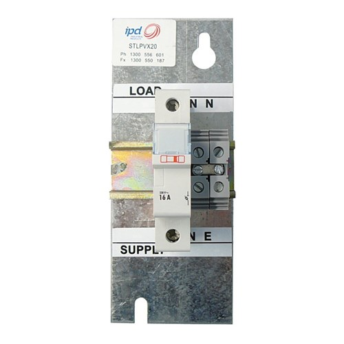 10A STREET LIGHT PANEL WITH 10A FUSE LINK