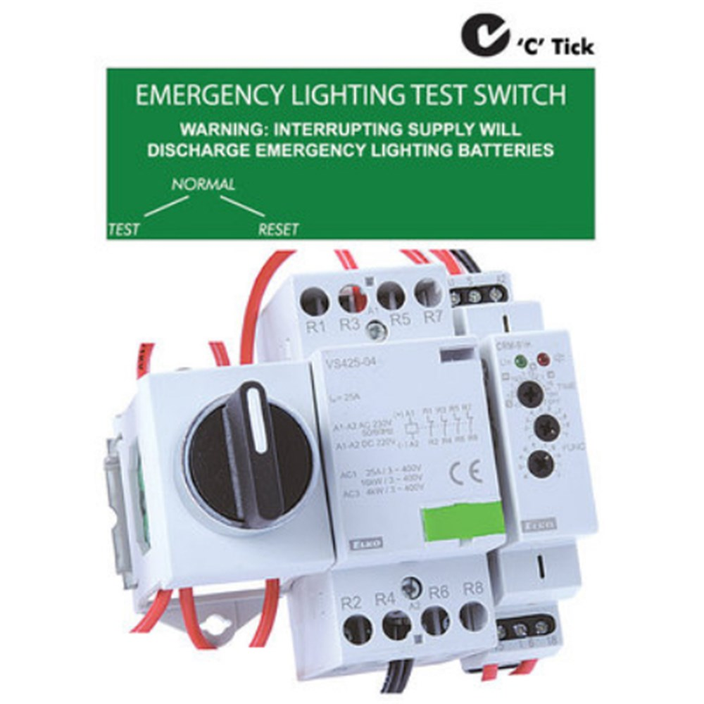 Pricing Policy: EMERGENCY LIGHTING TEST SWITCH